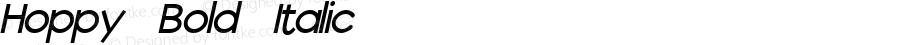 Hoppy Bold Italic Unknown