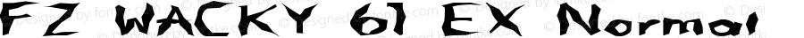 FZ WACKY 61 EX Normal 1.0 Thu Feb 10 01:48:48 1994