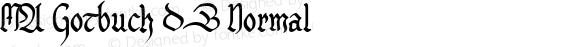 MA Gotbuch DB Normal 1.0 Tue Oct 01 10:41:23 1996