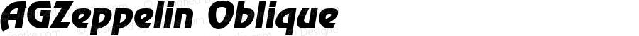 AGZeppelin Oblique 1.0 Wed Mar 08 20:35:52 1995