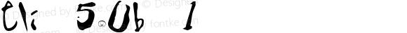 Eli 5.0b 1 Macromedia Fontographer 4.1 5/5/98
