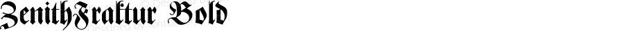 ZenithFraktur Bold 1.0 Tue May 14 20:20:37 1996