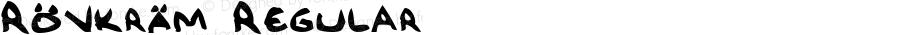 Rövkräm Regular 1.0 Sun May 18 00:23:48 1997