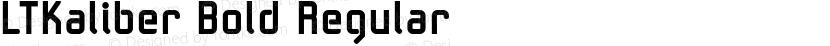 LTKaliber Bold Regular Preview Image