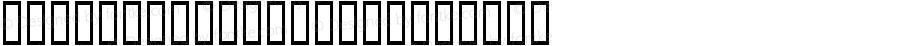 Hinodestar VAlp Regular Macromedia Fontographer 4.1 99/05/25