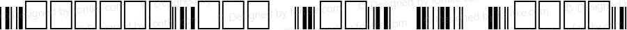 Interleaved 2of5 NT Regular Fontlab V2.5 9/17/99