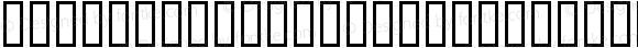 Hinodeticana CondensedHir Regular Macromedia Fontographer 4.1 99/05/27