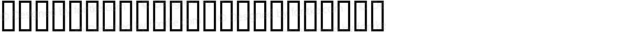 Hinodestar XKat Regular Macromedia Fontographer 4.1 99/05/27