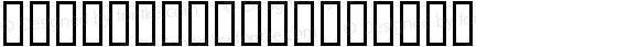 HINODEXHir Regular Macromedia Fontographer 4.1 99/05/27