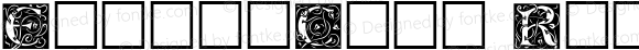 EileenCaps Regular Altsys Fontographer 3.5  5/27/92