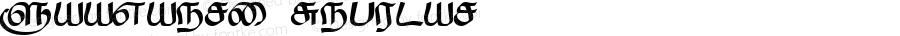 Saavaeri Regular Altsys Fontographer 3.5  24/5/95