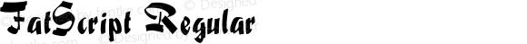 FatScript Regular