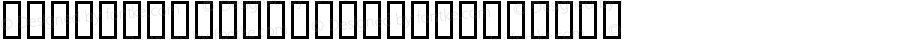 SportswearERegular Regular Macromedia Fontographer 4.1 98/06/19