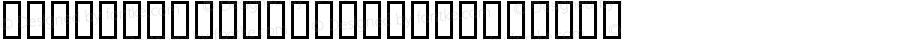 SportswearJRegular Regular Macromedia Fontographer 4.1 98/06/19