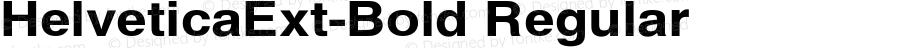 HelveticaExt-Bold