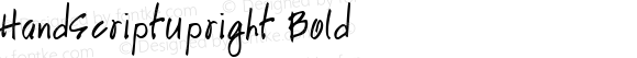 HandScriptUpright Bold The IMSI MasterFonts Collection, tm 1995 IMSI