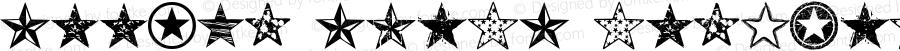 Seeing Stars Regular Macromedia Fontographer 4.1 7/2/99