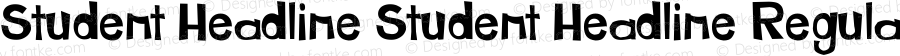 Student Headline Student Headline Regular Version 1 complete