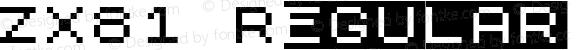 ZX81 Regular 001.000