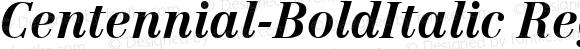 Centennial-BoldItalic