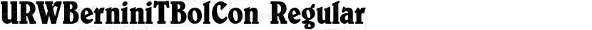 URWBerniniTBolCon Regular Preview Image