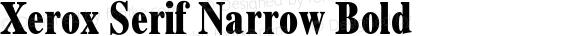 Xerox Serif Narrow Bold