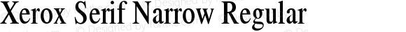 Xerox Serif Narrow
