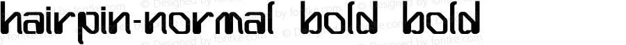 Hairpin-Normal Bold
