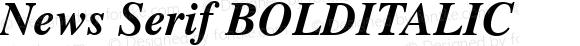 News Serif BOLDITALIC