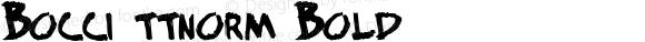 Bocci Bold ttnorm