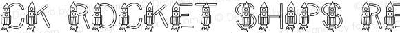 CK Rocket Ships Regular 4/20/2000