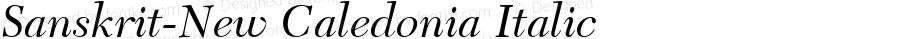 Sanskrit-New Caledonia Italic Unknown