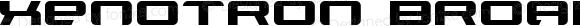 Xenotron Broadstroke Normal 1.0 Wed Jul 16 20:18:59 1997