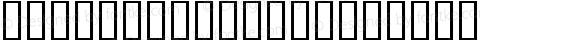 Americratika Regular Macromedia Fontographer 4.1 21/07/00