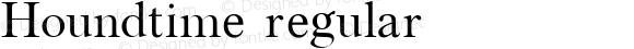 Houndtime regular 2001; 1.0, initial release