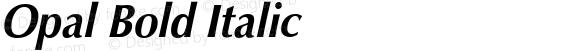 Opal Bold Italic 001.001