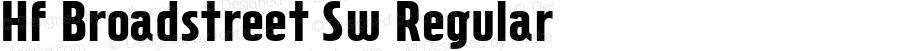 Hf Broadstreet Sw Regular Macromedia Fontographer 4.1.3 8/8/96