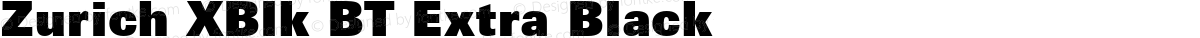 Zurich XBlk BT Extra Black