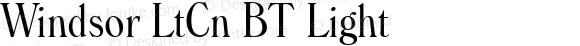 Windsor LtCn BT Light mfgpctt-v1.52 Thursday, January 14, 1993 10:29:23 am (EST)