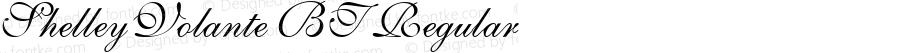 ShelleyVolante BT Regular mfgpctt-v1.52 Tuesday, January 26, 1993 3:03:56 pm (EST)