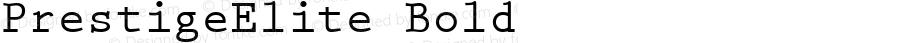 PrestigeElite Bold Altsys Fontographer 4.0.2 97.5.26