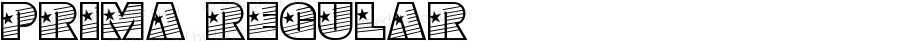 Prima Regular 1997; 1.0, initial release