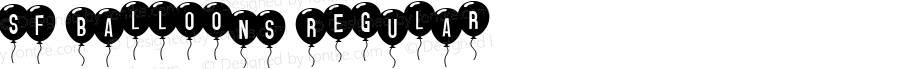 SF Balloons Regular v1.0d - 08/29/99