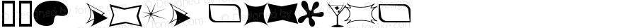 60s Chic Regular Macromedia Fontographer 4.1 9/1/99