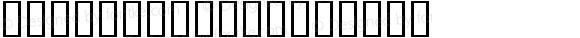 SILDoulosL Regular Macromedia Fontographer 4.1 9/3/97