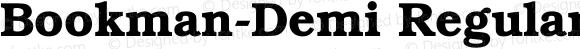 Bookman-Demi Regular