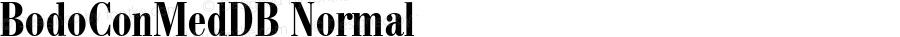 BodoConMedDB Normal Altsys Fontographer 4.0.3 8.9.1994