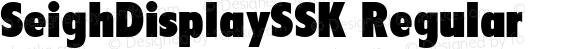 SeighDisplaySSK Regular preview image