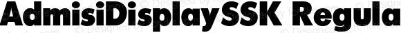 AdmisiDisplaySSK Regular Altsys Metamorphosis:8/24/94