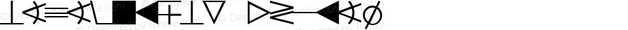 DataSymEDB Normal Altsys Fontographer 4.0.3 9.9.1994